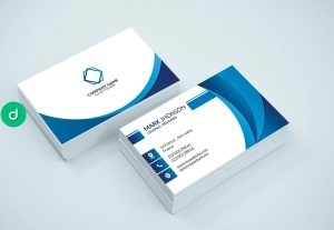 77930business card design simple and modern style